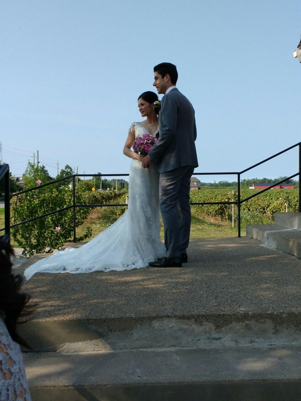 K.'s wedding dress